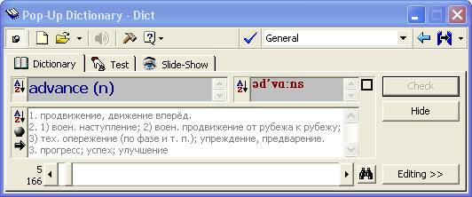 Pop up dictionary free download